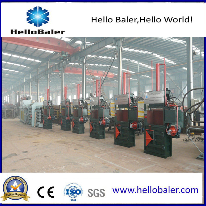 China Hydraulic Press Packing Machinery Vertical Baler
