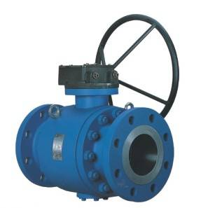 Three Way Trunnion Ball Valve(CL600-900)