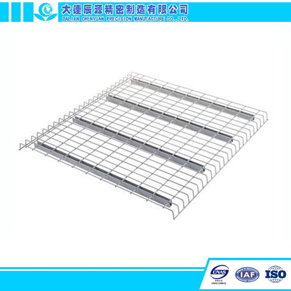 China Reliable Manufacturer Steel Warehouse Pallet Rack Wire Mesh Decking