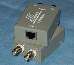 Single Port G.703 Balun|Impedance converter
