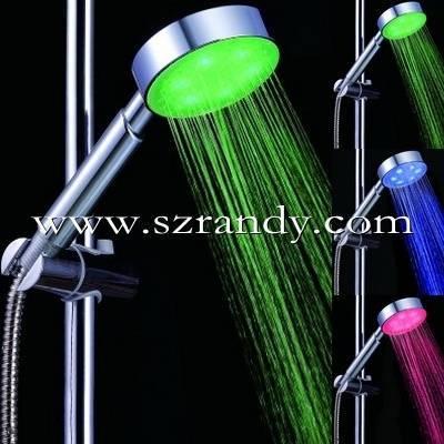 7 color hot selling  led hand shower