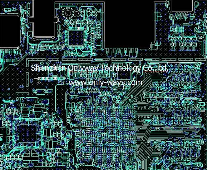 Intel bay -trail-CR pcb design and layout