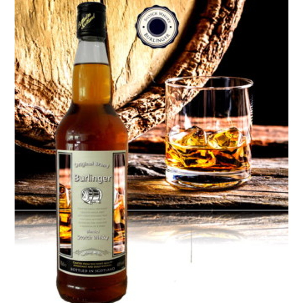 Blended Scotch Whisky - BURLINGER - 8 YO - 700 ml - OEM possible