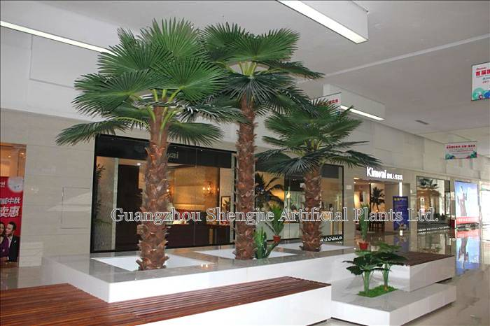 high simulation big artificial palm tree