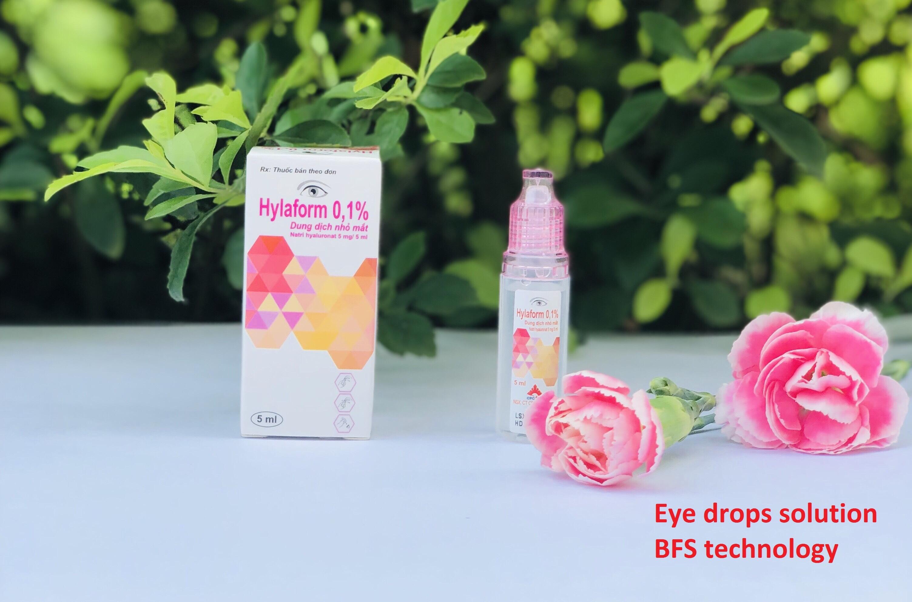 Multidose Ophthalmic Sodium hyaluronate 1 mg/ml