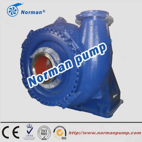 Horizontal Industrial Heavy Duty Sand Pump For River Course