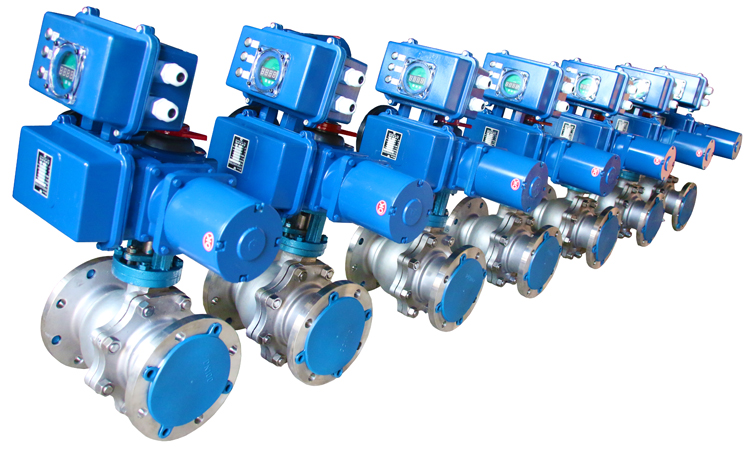 90 degree actuated float valve ball