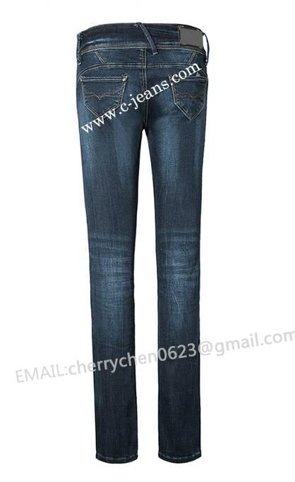 Ladies' Blue Stretch Jeans. New Fashion Sexy Lady Jeans Top Quality, Stylish Women Skinny Jeans