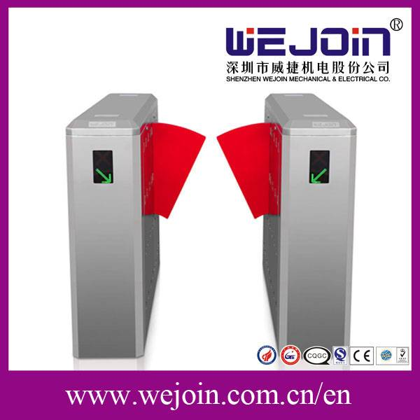 fast speed lane flap barrier, Metros/ Bus Stations/Subway Automatic magnetic readers flap barrier