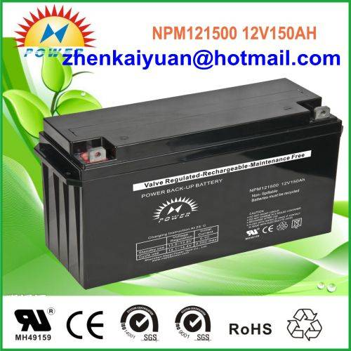 lead acid /sealed /ups/solar/ battery12V150Ah