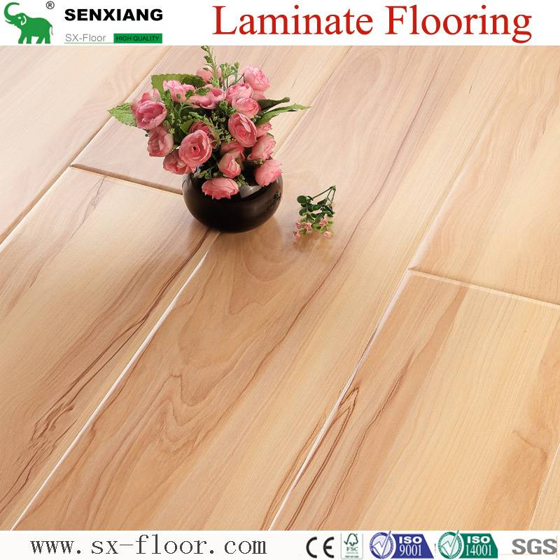 Best Price Eco-Friendly Factory Direct High Gloss Laminated Wood Flooring