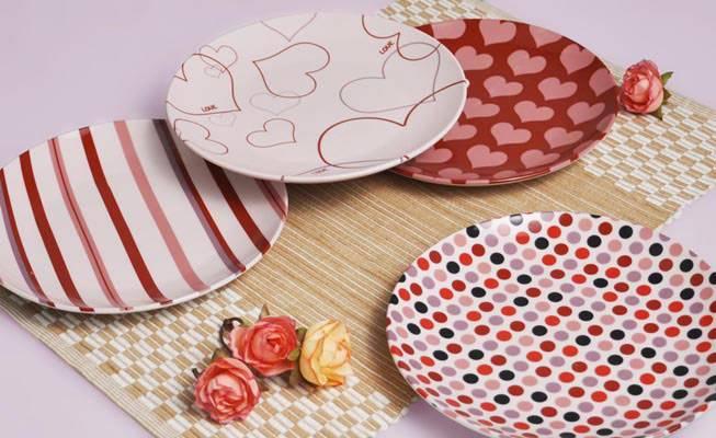 Ceramic Porcelain Dinner gift Plate