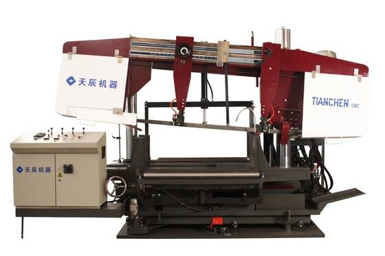 CNC  Rotate angle H Beam Band Sawing Machine Model RBS1250