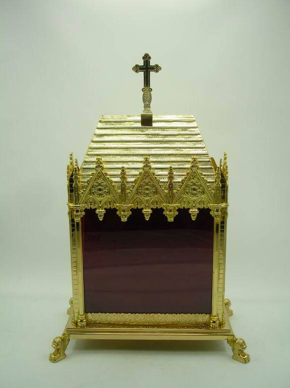 High Quality Brass Reliquary Excellent Monstrance Religious Articles X1-3