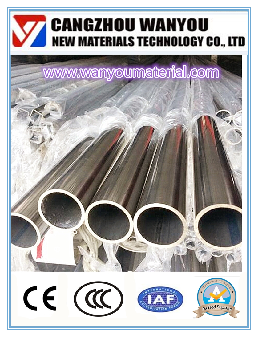 High Quality Stainless Steel Pipe Made In China info at wanyoumaterial.com