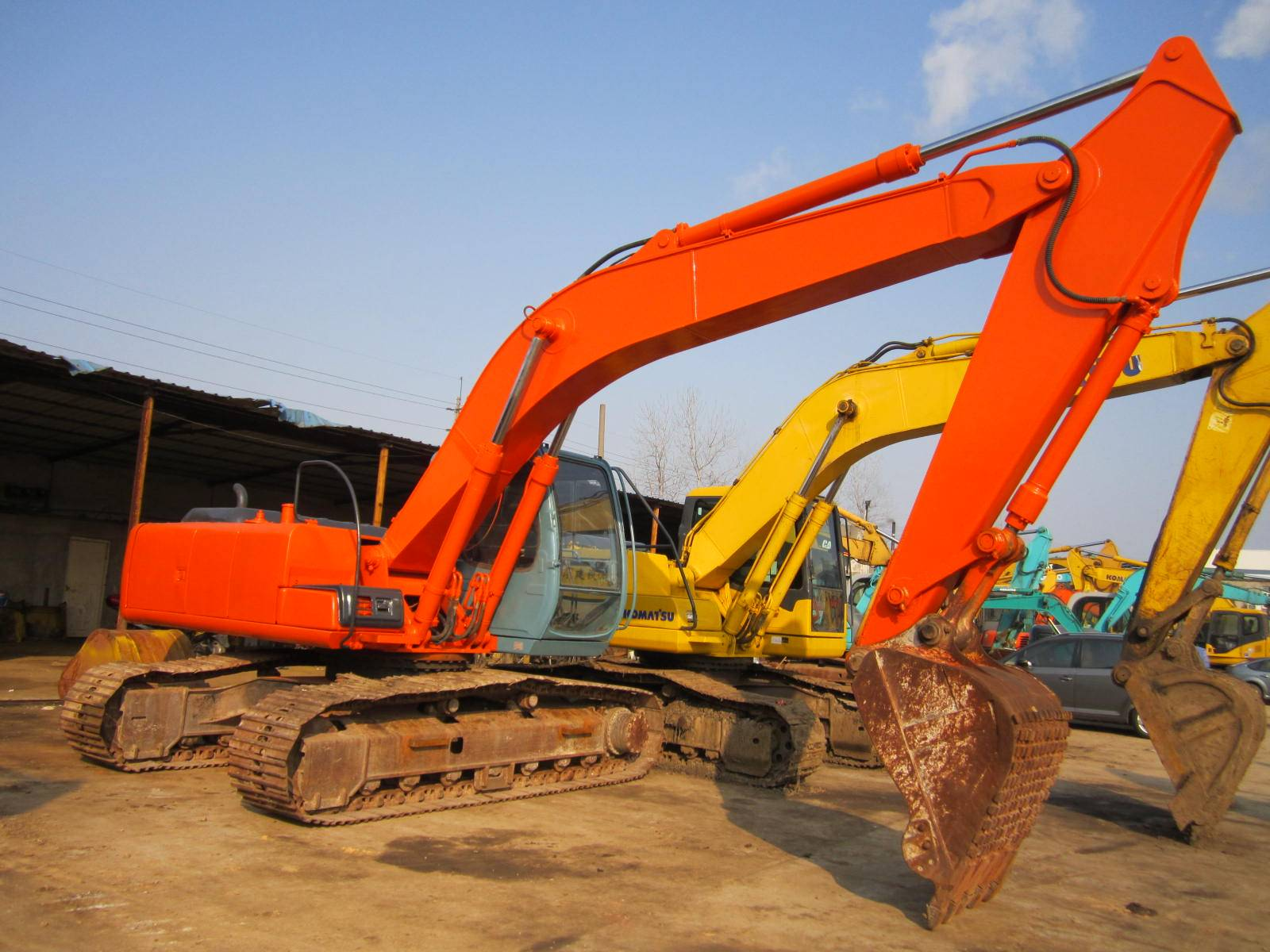 Used Hitachi EX200-5 Excavator, Used Excavator EX200-5 for Sale