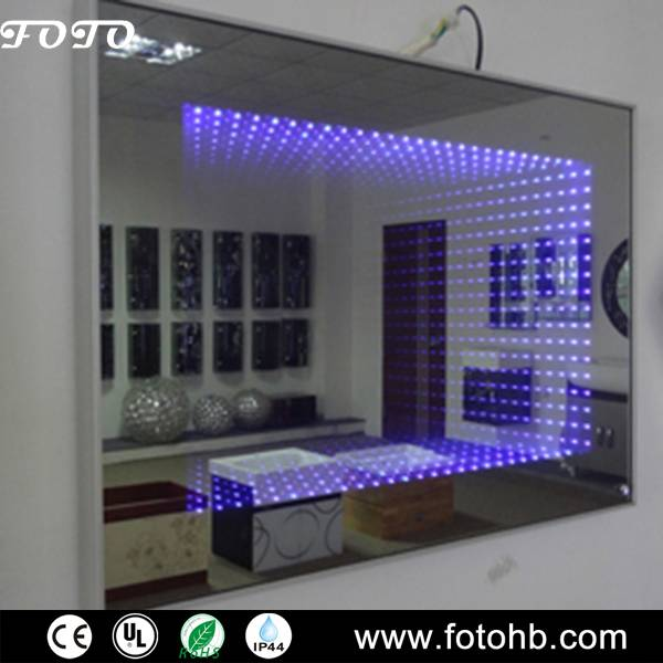 Lighted Infinity Mirror with LED Backlit