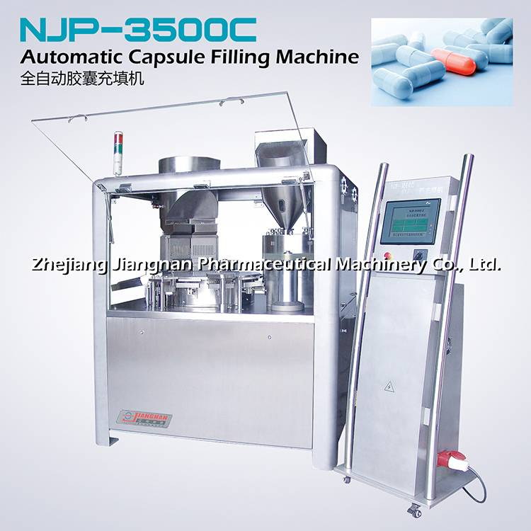 Automatic capsule filling machine NJP-3500