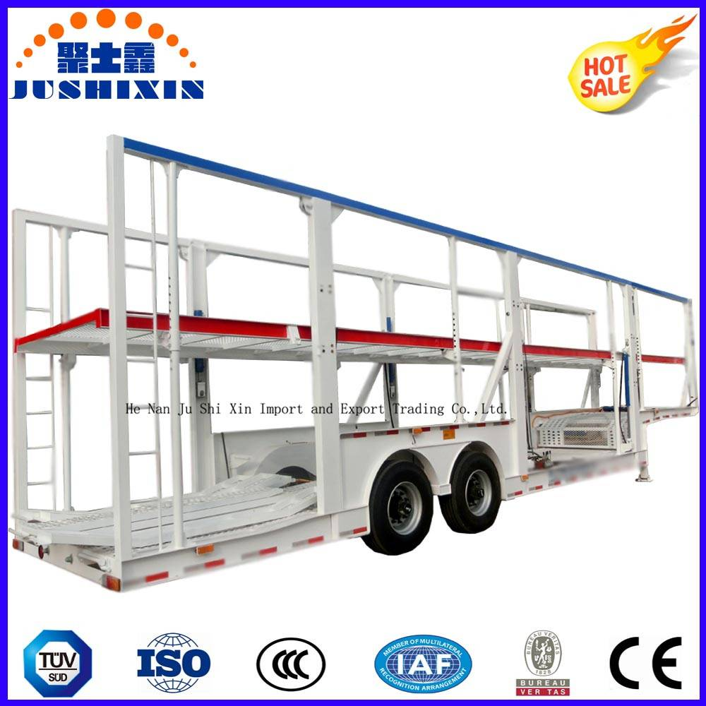 Car Hauler Trailer/ Car Carrier Semi Trailer for 6-12cars Loading