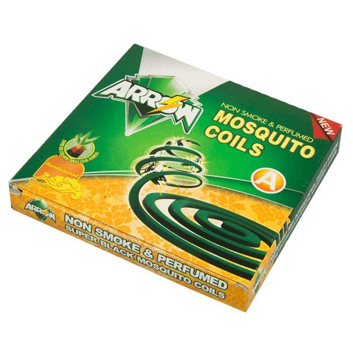 Black Type Non Smoke Micro Smoke Mosquito Coil