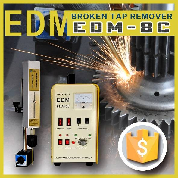 Electric spark broken tap remover machine