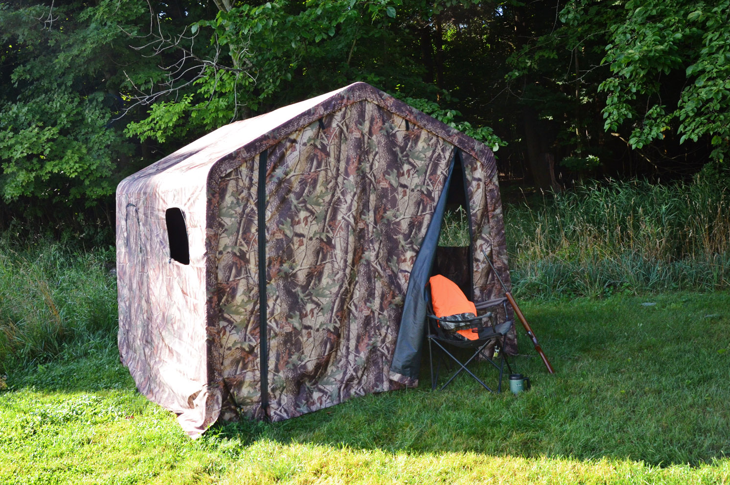 Multi-Purpose Camoflange Shelter 8x8 Feet,Outdoor Hiking Shelter