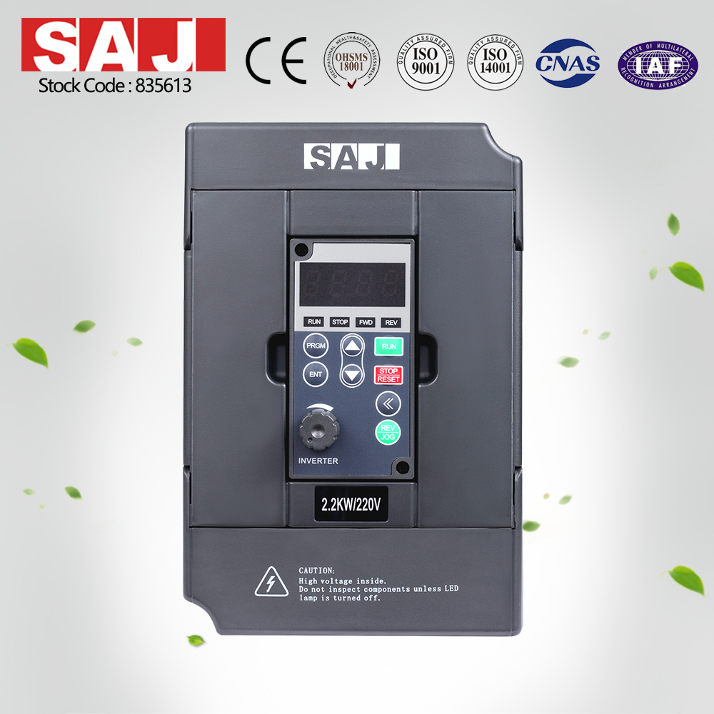 SAJ 1.5KW 2HP 220V Enhanced AC Drives for Conveying machinery
