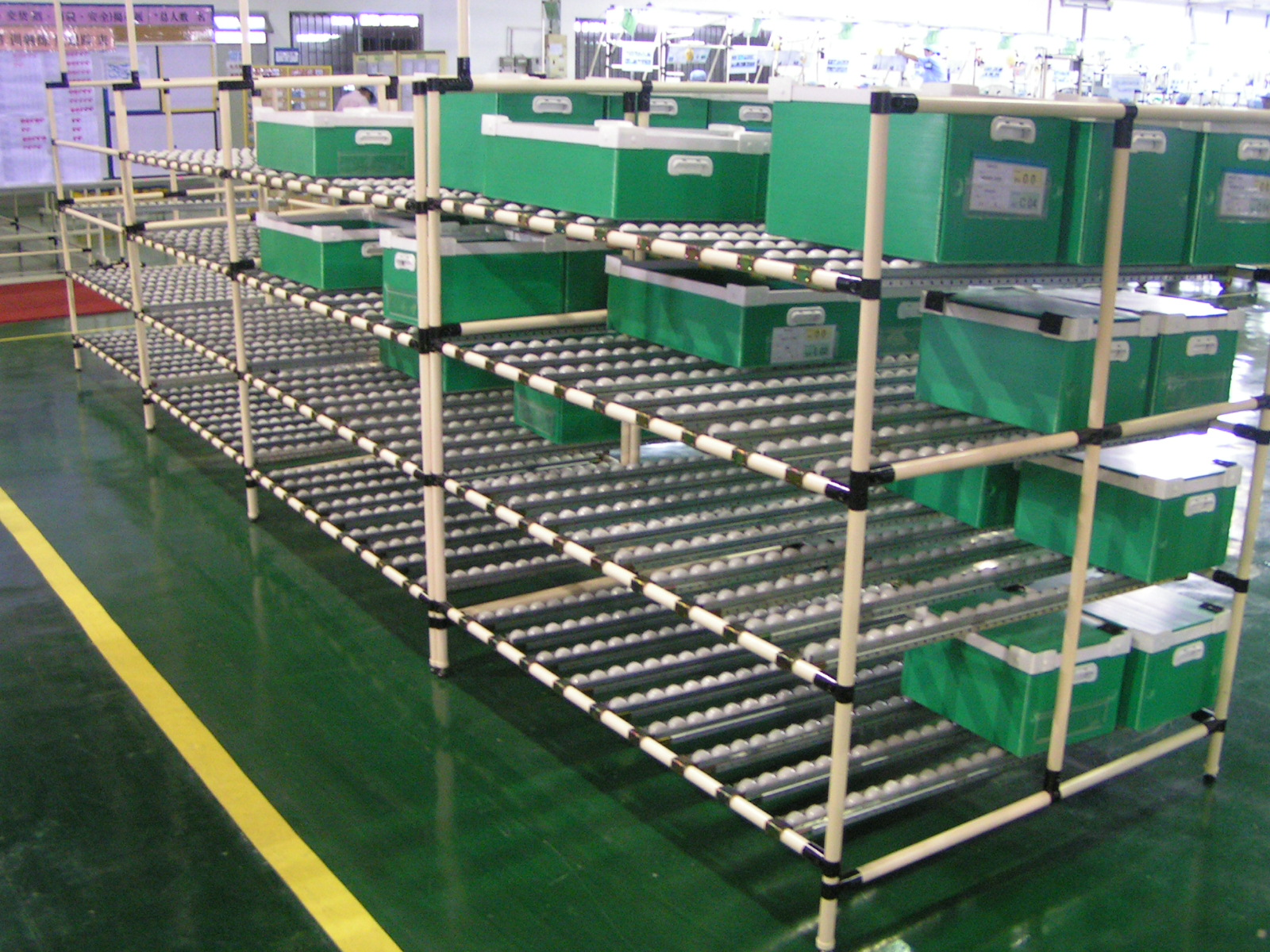 Storage pipe rack system