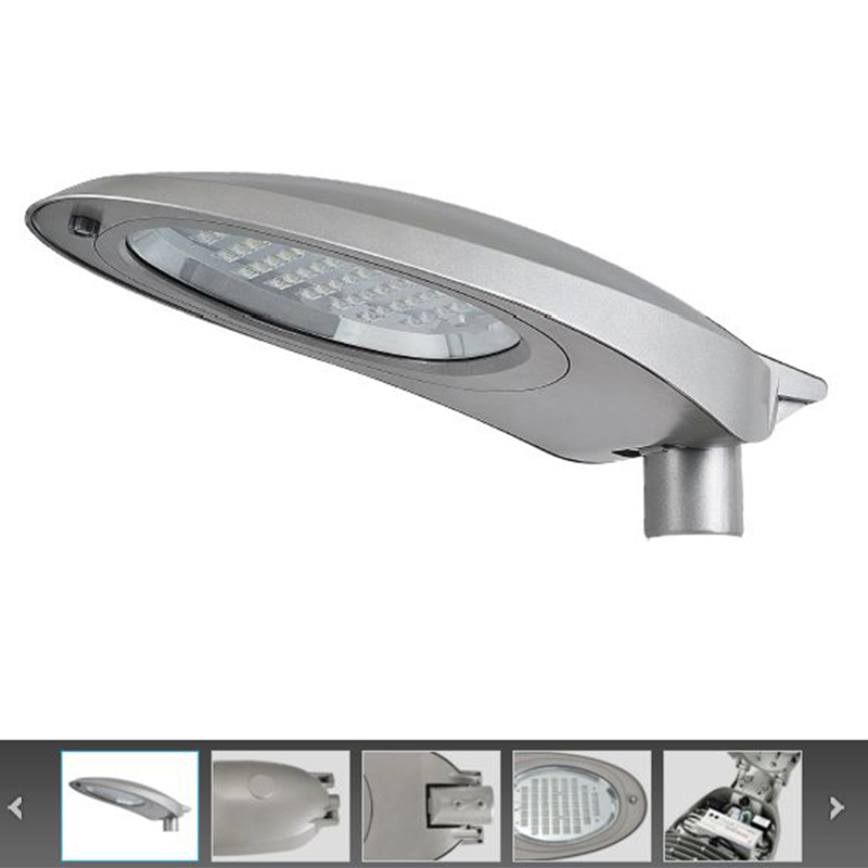 China manufacturing factory classic cobra head housing case 30w-100w led street lighting pole