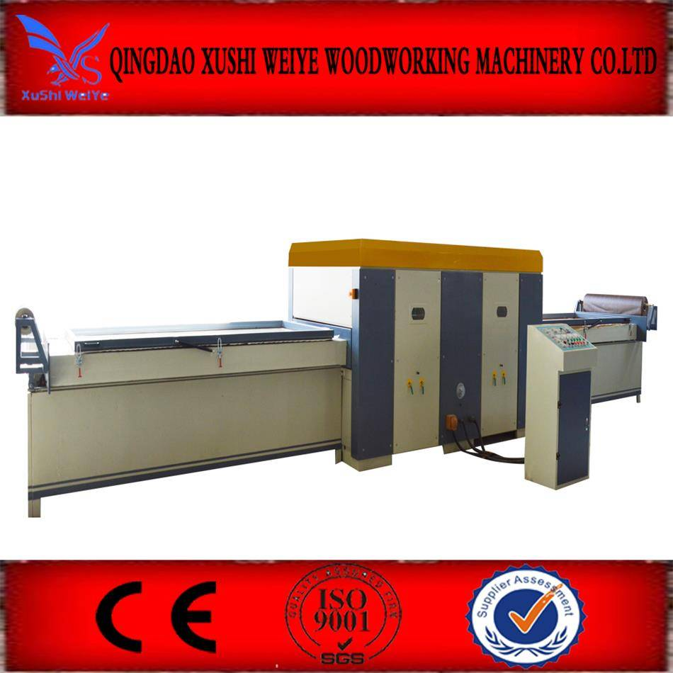woodworking membrane press machine HSHM2500YM-A
