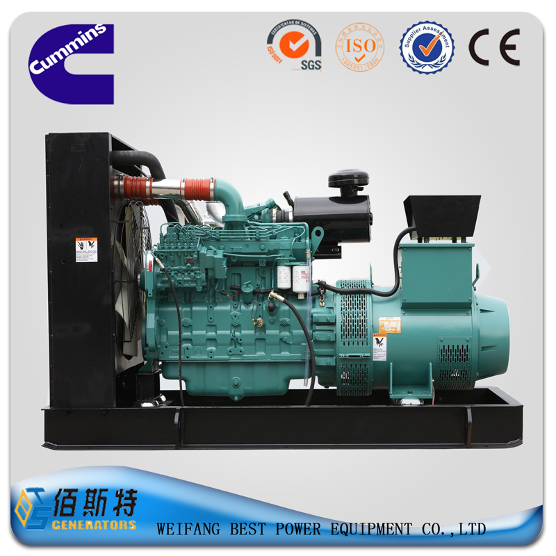 Cummins brand 300KW Diesel generator set open type