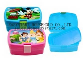 Cheap plastic kids sandwich lunch box
