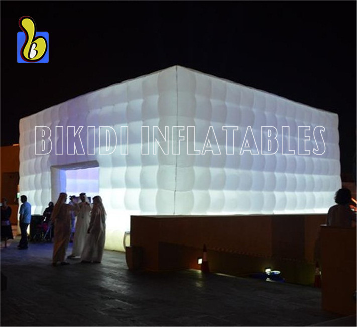 White Cube Double For Event, Party, Wedding K5078-3