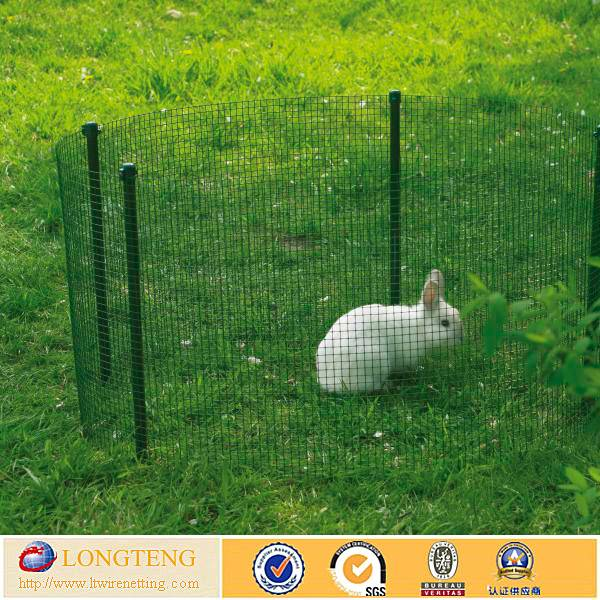 low price 1/4 inch pvc coated welded wire mesh for cage