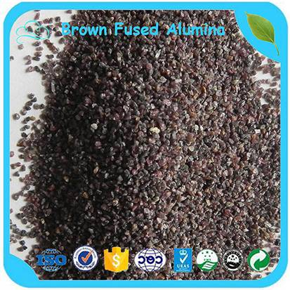 F16-220# Abrasive Brown Fused Alumina (BFA) For Sand Blasting