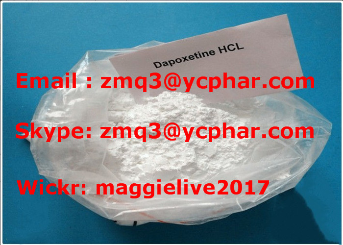 99% Sex Enhancing Drugs Pharmaceutical Intermediates Dapoxetine Hydrochloride 119356-77-3
