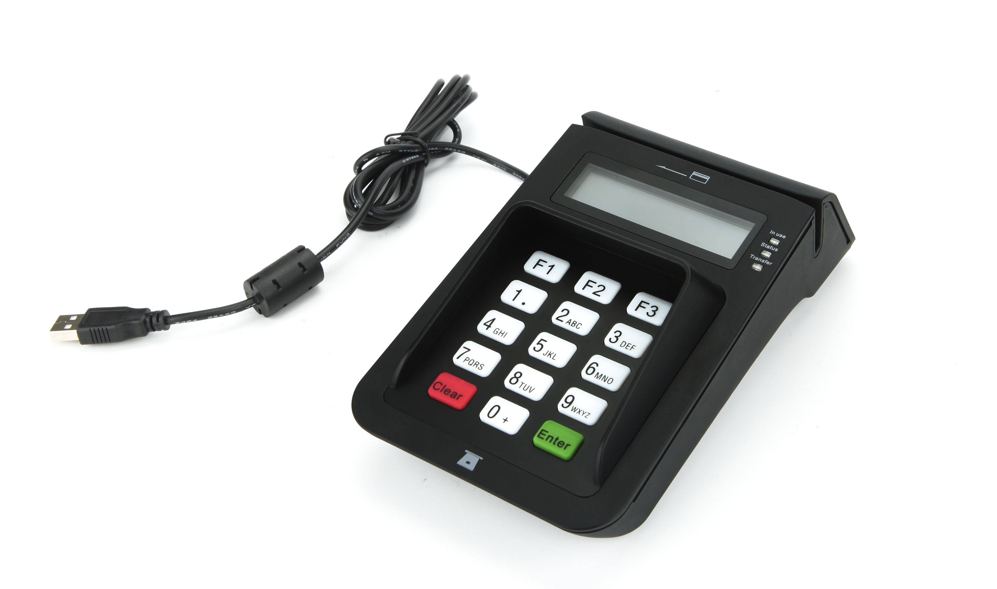 E7 IC card reader writer with PIN PAD
