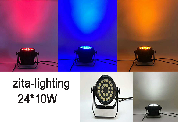 24x10w waterproof par light
