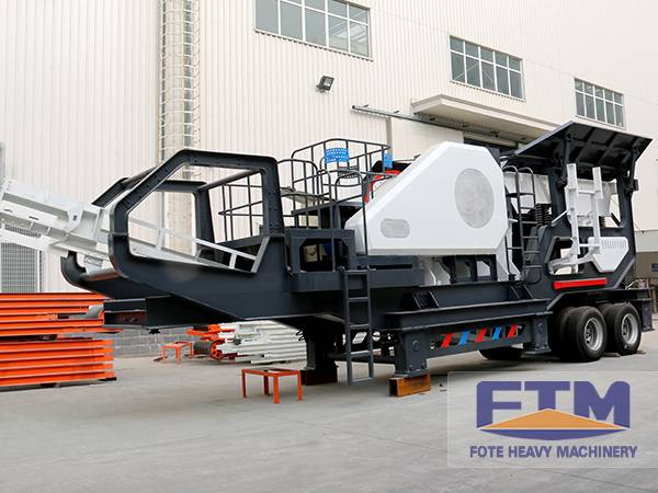 Construction Wastes Mobile Crusher/Mobile Crusher