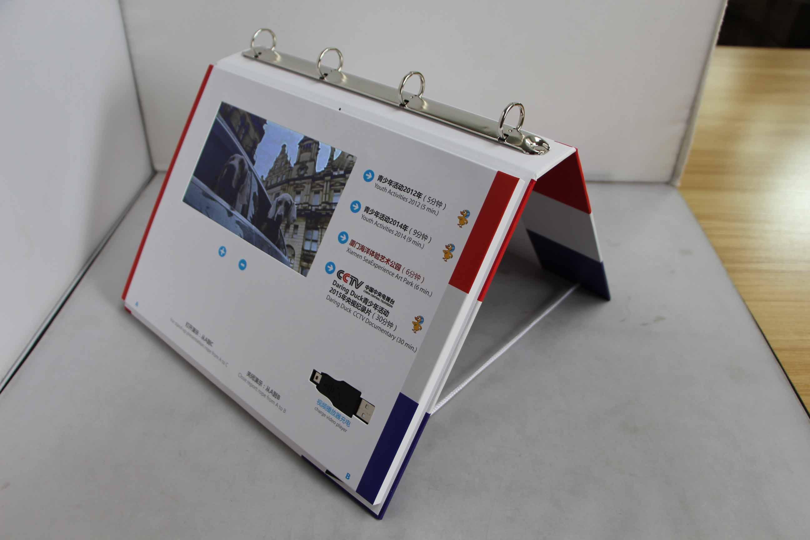 Desktop Video Brochure