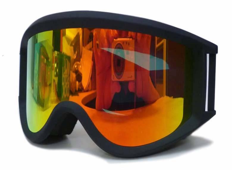 CE,FDA approved fashion professional ski goggles camera with anti-fog lens