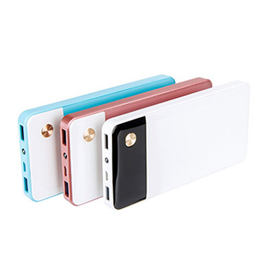 10000mah qc2.0 power bank with 5/9/12 outputs