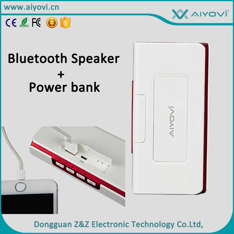 Portable charger with Bluetooth speaker MD-01 for electronic devices