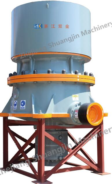 Single-cylinder hydraulic cone crusher