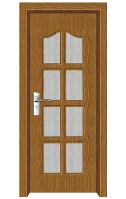 Low MOQ and cheap price interior pvc door (MP-031)