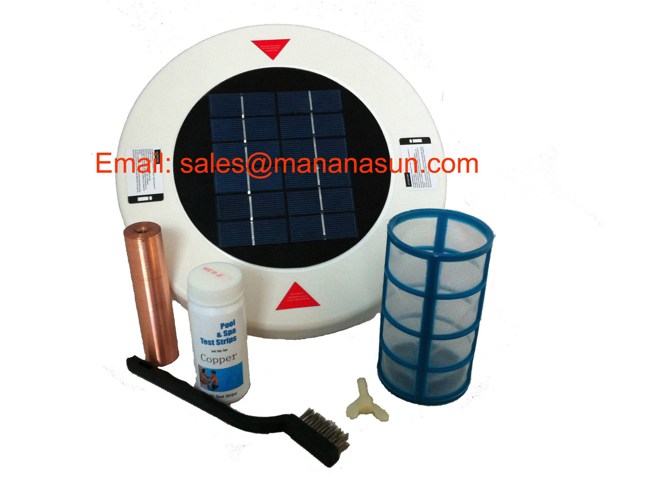 Solar Pool Ionizer Beneficial to Release Mineral Ions, Keep Mineral Ions Balance
