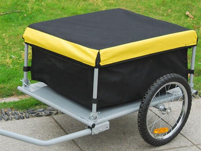 Yellow Bike Bicycle Cargo Trailer
