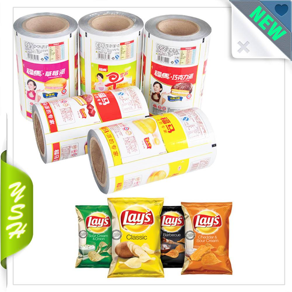 Food laminated packaging plastic roll films