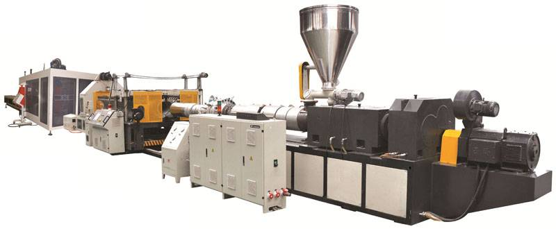 UPVC Double-wall Corrugated Pipe Extrusion Line
