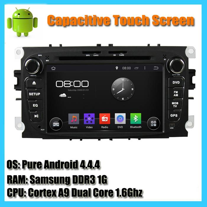 Ford Focus 2 Mondeo S-Max Auto Radio Android 4 4 Car Dvd Player GPS